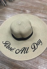 Hat Rose All Day Embroidered Floppy Hat