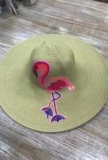 Hat Sequin Flamingo Floppy Hat