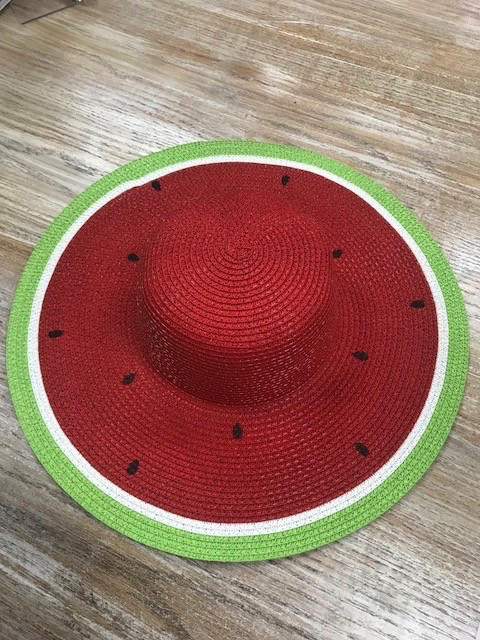 Hat Hand Printed Fruit Floppy Hat