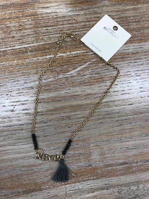 Jewelry Gold Love Necklace