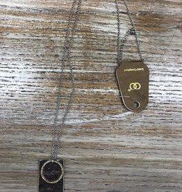 Jewelry Long Necklace Believe In