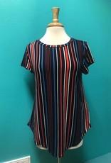 Shirt Blue Stripe Tee