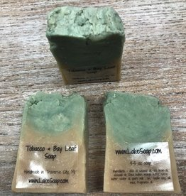 Beauty Lake Soap, Tobacco & Bay Leaf