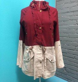 Jacket Colorblock jacket