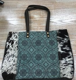 Bag Floral Chic Canvas Tote Bag