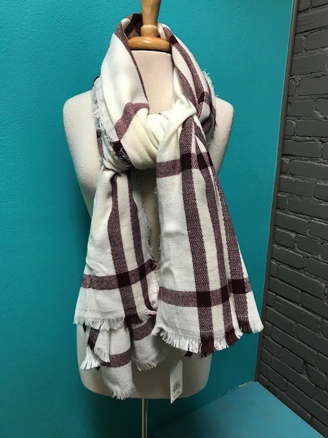 Scarf Plaid Scarves