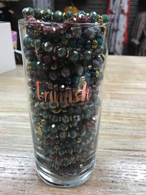 Jewelry Cinnamon Color Jar Bracelet