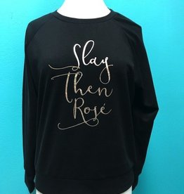 Long Sleeve Black LS w/ Saying
