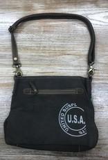 Bag Teal Floral Print Shoulder Bag