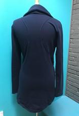 Jacket Navy Side Zip Jacket