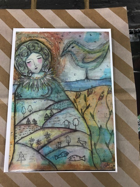 Card Mother Greeting Card