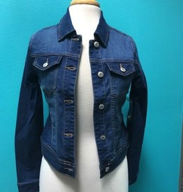 Jacket Denim Button Jacket