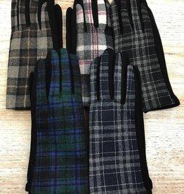 Gloves Plaid Smartphone Gloves