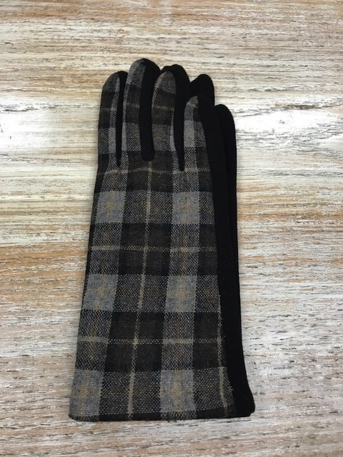 Gloves Plaid Smartphone Gloves