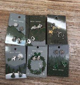 Jewelry Winter Earring Set