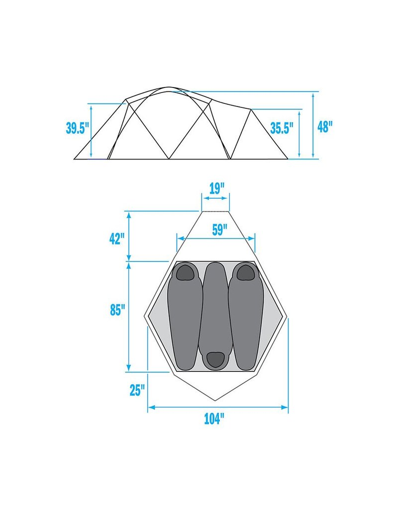 The North Face VE 25 Tent