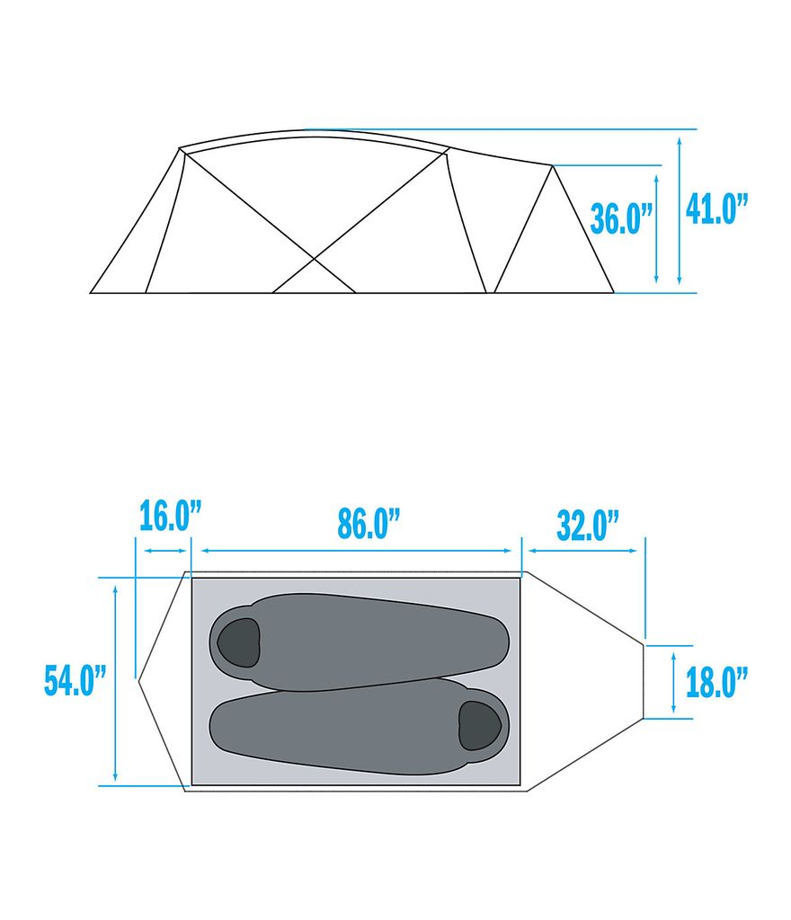 The North Face Mountain 25 Tent