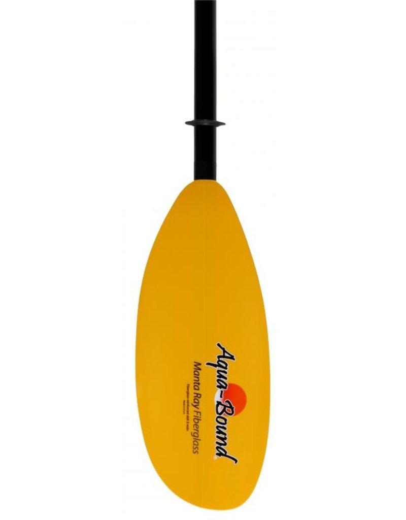 Aqua Bound Manta Ray Fiberglass 4pc Push Button