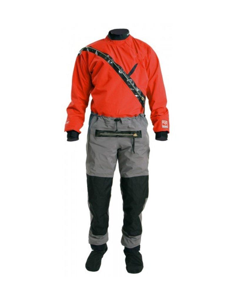Kokatat G-Tex Front Entry Suit W/ Relief Zip & Socks