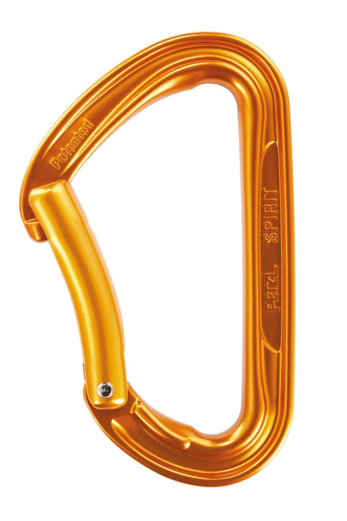 Petzl Spirit Bent Gate Biner