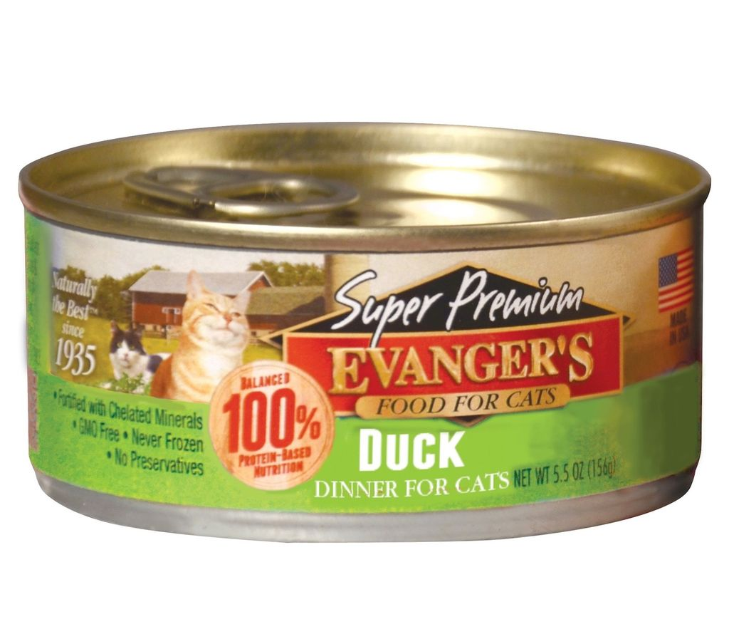 Evanger Evanger's Super Premium Duck Dinner, 5.5 oz can