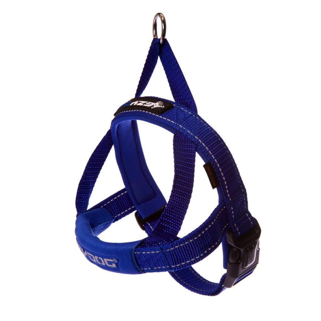 EzyDog Quick Fit Harness Blue, XX Small