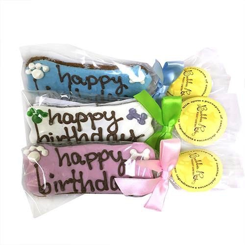Bubba Rose Bubba Rose Biscuit Company Individually Wrapped Birthday Bones Treat