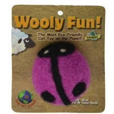 One Pet Planet One Pet Planet Wooly Fun Lady Bug