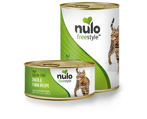 Nulo Nulo Freestyle Duck & Tuna Canned Cat & Kitten Food, 5.5 oz can