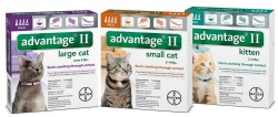Advantage 2 Bayer Advantage 2 Cat Flea Prevention & Treatment, 9#+