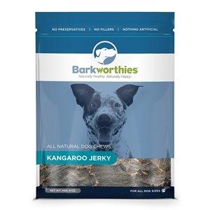 Barkworthies Barkworthies Kangaroo Jerky Dog Treat, 4oz bag
