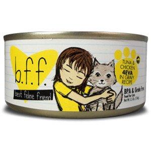 Best Feline Friend BFF Tuna and Chicken 4Eva in Gravy Recipe