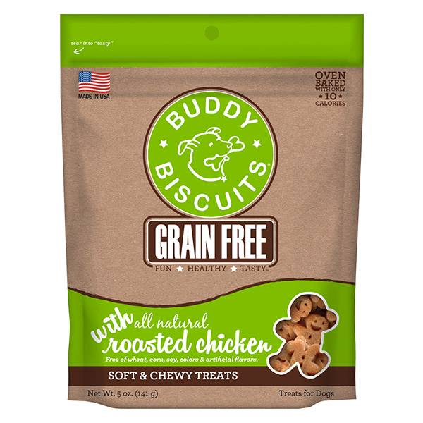 Cloud Star Buddy Biscuits with Roasted Chicken Oven Baked Dog Treat, 3.5# bag