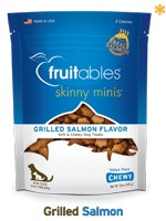 Fruitables Fruitables Skinny Minis Soft & Chewy, Grilled Salmon, 12oz bag