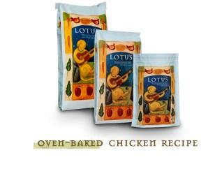 Lotus Lotus Oven-Baked Chicken Recipe Dry Dog Food