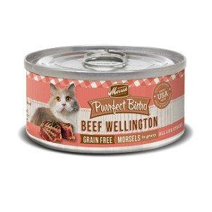 Merrick Merrick Purrfect Bistro Beef Wellington, 5.5 oz