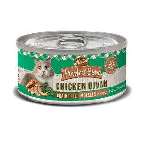Merrick Merrick Purrfect Bistro Chicken Divan, 5.5 oz can