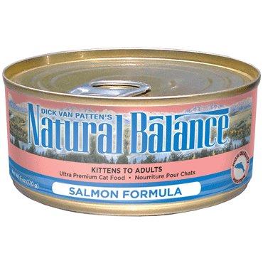 Natural Balance Natural Balance Salmon Formula Cat Can Food, 6 oz can