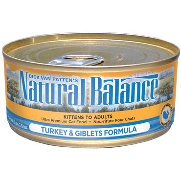 Natural Balance Natural Balance Turkey and Giblets Formula Cat Can Food, 5.5 oz can