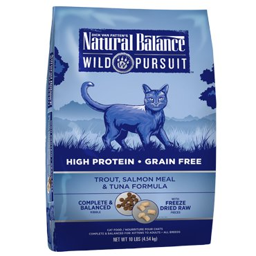 Natural Balance Natural Balance Wild Pursuit Trout, Salmon Meal & Tuna Dry Cat Food, 1.5# bag