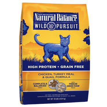 Natural Balance Natural Balance Wild Pursuit Chicken, Turkey Meal & Quail Dry Cat Food, 1.5# bag