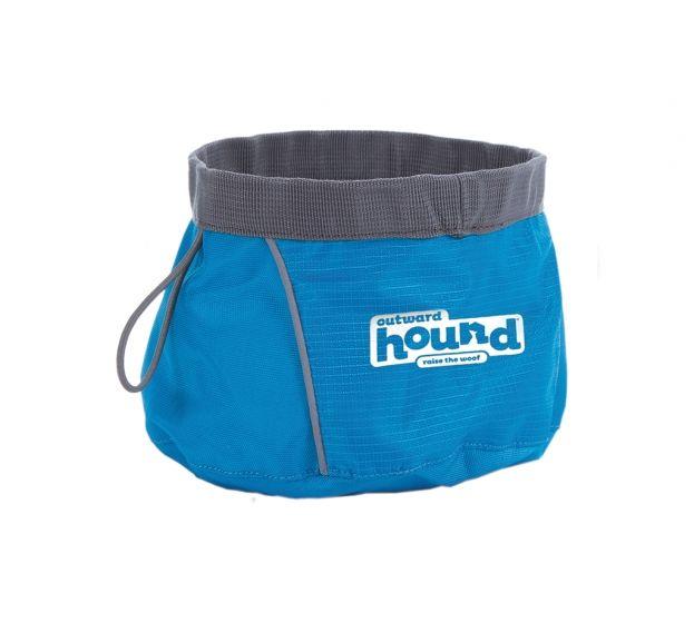 Outward Hound Outward Hound - Port a Bowl Large, 48oz,  Blue