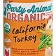 Party Animal Party Animal Organic California Turkey 12/13 oz