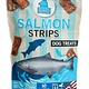 Plato Plato Salmon Strips Dog Treats, 16oz bag