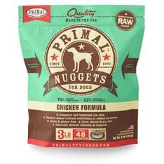 Primal Primal Frozen- K9 Chicken Formula 3# bag