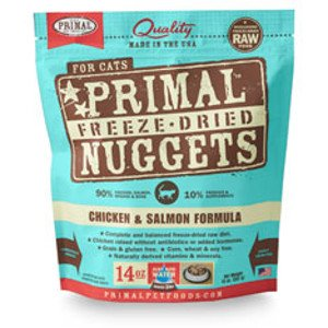 Primal Primal Chicken and Salmon -Freeze Dried Formula- Cat 14oz