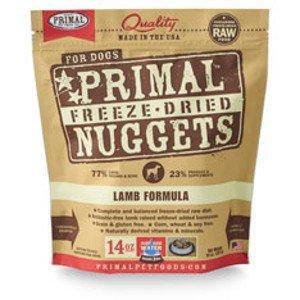 Primal Primal Lamb Formula Nuggets Freeze-Dried Dog Food, 14 oz bag