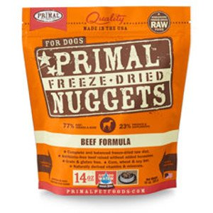 Primal Primal Beef Formula Nuggets Freeze-Dried Dog Food-14 oz bag