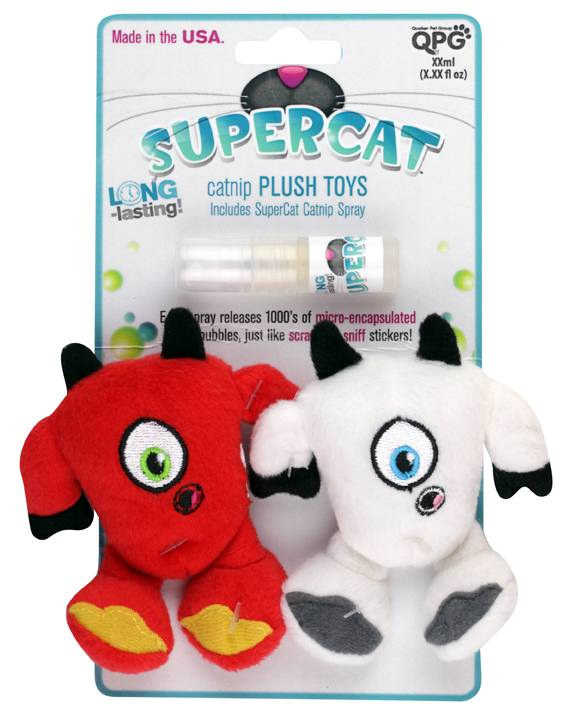Quaker Pet Products SuperCat Plush Cat Toy
