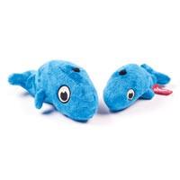 Quaker Pet Products Quaker Pet Hear Doggy Ultrasonic Flattie with Chew Guard, Small Blue Whale